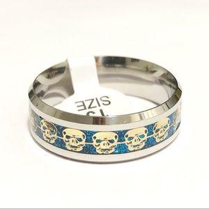 Skulls Ring, Size 13